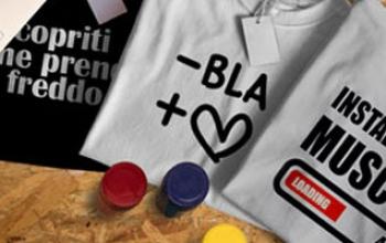 Crea la tua t-shirt personalizzata online con il tuo logo o foto