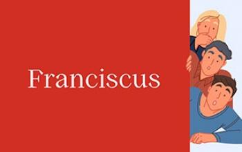 La Chiesa ha fatto un font, si chiama Franciscus